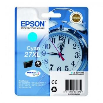 Cartouche d'encre Epson 27XL Cyan (Réveil)