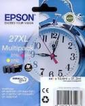 Cartouche d'encre Epson 27XL Pack 3 Couleurs (Réveil)