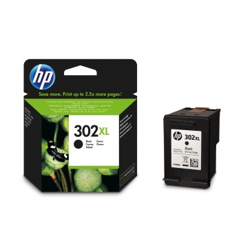 Cartouche d'encre HP 302XL Noir