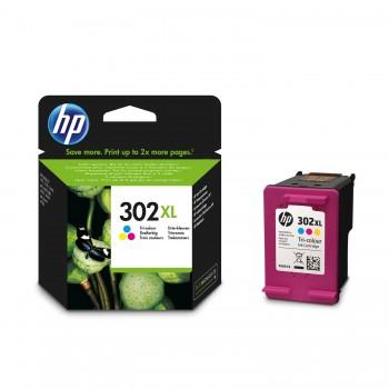 Cartouche d'encre HP 302XL 3 Couleurs