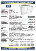 Imprimante Laser HP Color LaserJet M452nw