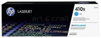 Cartouche de Toner laser HP 410X Cyan grande capacité CF411X