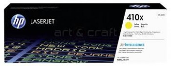 Cartouche de Toner laser HP 410X Jaune grande capacité CF412X