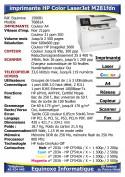 Imprimante Laser HP Color LaserJet M281fdn