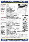 Imprimante Laser HP Color LaserJet M477fdn