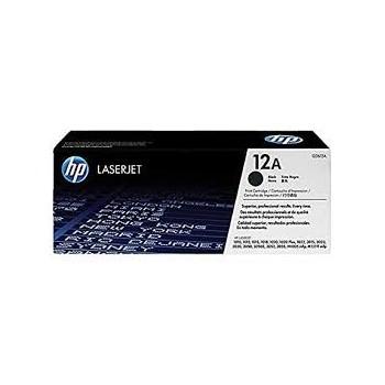 Cartouche de Toner laser HP 12A Noir Q2612A