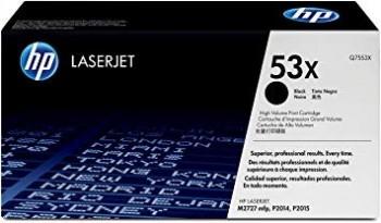 Cartouche de Toner laser HP 53X Noir Q7553X