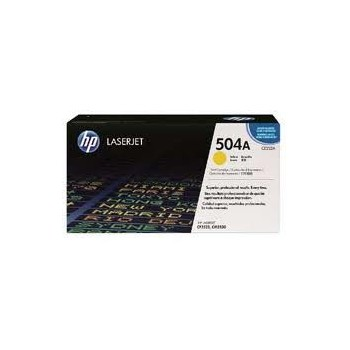 Cartouche de Toner laser HP 504A Jaune CE252A