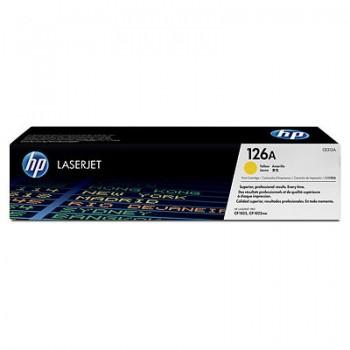 Cartouche de Toner laser HP 126A Jaune CE312A