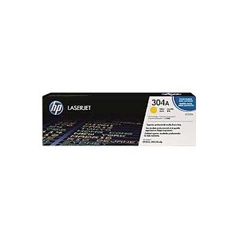 Cartouche de Toner laser HP 304A Jaune CC532A