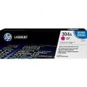 Cartouche de Toner laser HP 304A Magenta CC533A