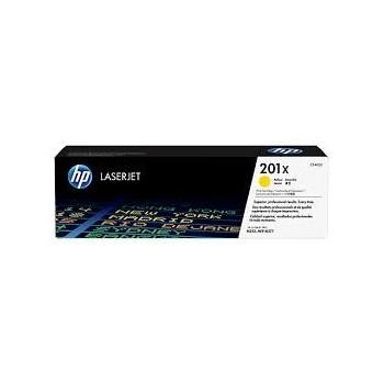 Cartouche de Toner laser HP 201X Jaune CF402X Grande capacité