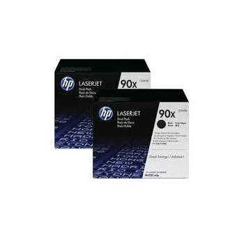 Cartouche d'encre HP 90A Noir grande capacité CE390XD Pack x2