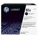 Cartouche de Toner laser HP 81X Noir CF281X Grande capacité