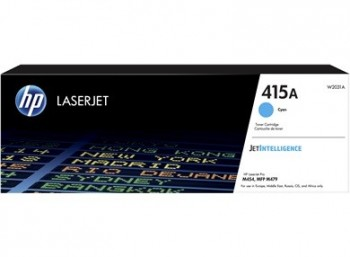 Cartouche de Toner laser HP 415A Cyan W2031A