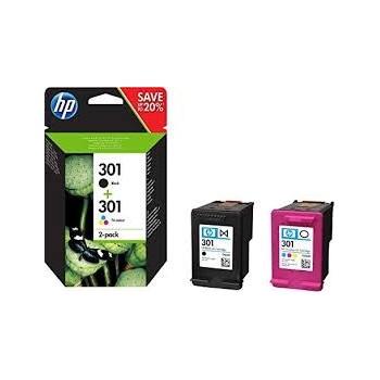 Cartouches d'encre HP 301 Pack Noir et Couleurs