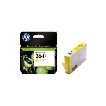 Cartouche d'encre HP 364XL Jaune
