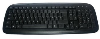 Clavier MCL Samar ACK-298/N noir Filaire USB