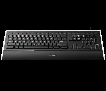 Clavier Logitech K740 Illuminated noir Filaire USB