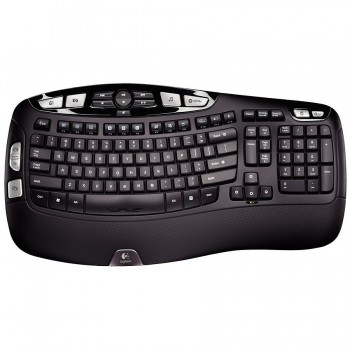 Clavier Logitech K350 Business Wireless noir Sans fil