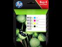 Cartouches d'encre HP 912XL Pack (Noir Cyan, Jaune, Magenta)
