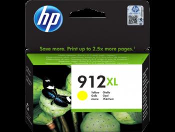 Cartouche d'encre HP 912XL Jaune
