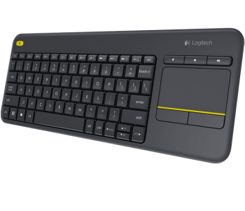 Clavier Logitech K400 Plus Wireless Touche, Sans fil noir