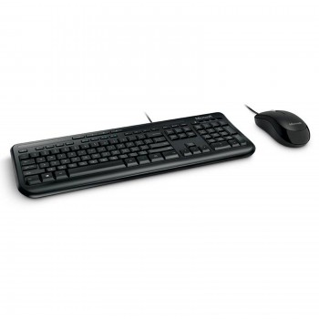 Clavier + Souris Microsoft 600 For Business USB, noir
