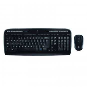 Clavier + Souris Logitech MK330 Wireless Desktop Sans fil noir
