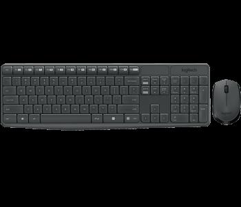 Clavier + Souris Logitech MK335 Wireless, Sans fil noir