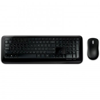Clavier + Souris Microsoft 850 Wireless Business, Sans fil noir