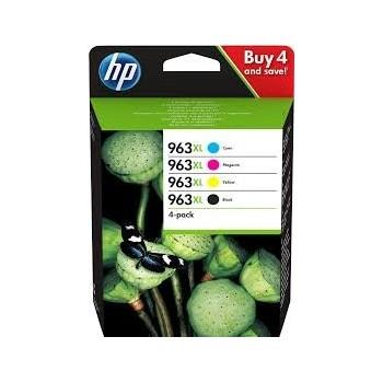 Cartouche d'encre HP 963XL Pack 4 cartouches Noir, Cyan, Jaune, Magenta
