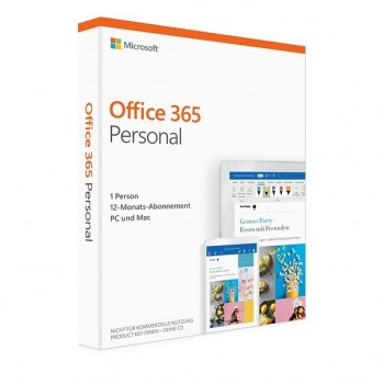 Microsoft Office 365 Personnel, 1 Poste