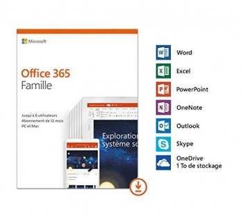 Microsoft Office 365 Famille Premium, 6 Postes